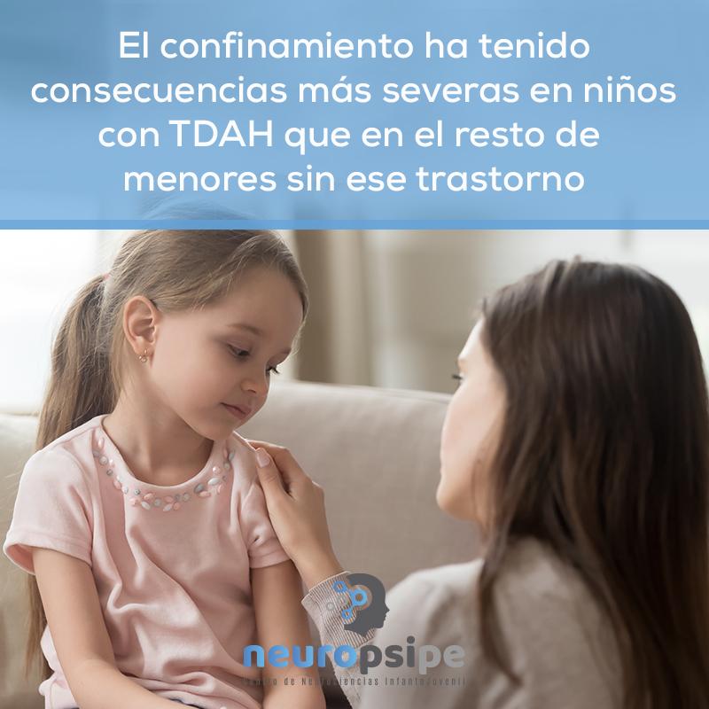 Las consecuencias para los niños con TDAH han sido más severas